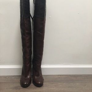Marciano Leather brown High Fashion Boots